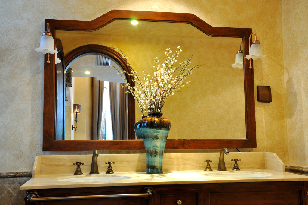 Custom Vanity Glass Mirror